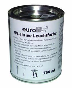 Eurolite UV-active paint, pink 750ml