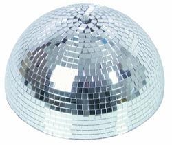 Eurolite Half mirror ball 30cm with safety-m