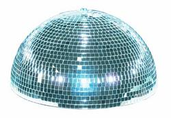 Eurolite Half mirror ball 20cm with safety-m