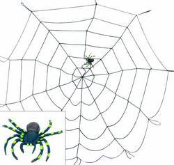 Noname Spider web nylon black Spider [1 pcs left]