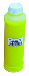 Noname UV-active stamp ink, transp.yellow,