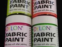 Noname UV Flourcent Fabric Paint Yellow