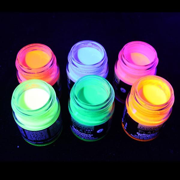 UV Flourcent Fabric Paint Green 50g