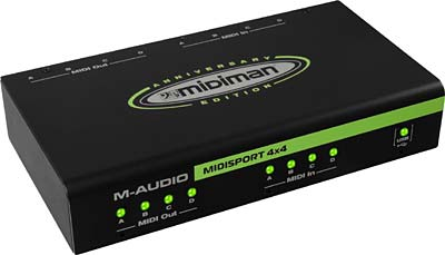 M-Audio Midisport 4x4