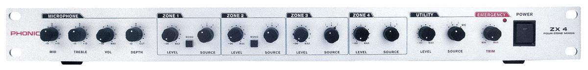 Phonic ZX4 Zonemixer
