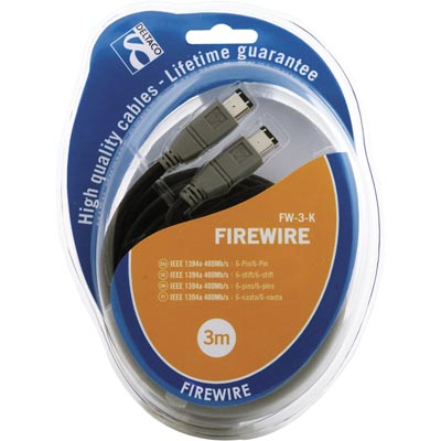 Cable Firewire 6/6, 1m [8 pcs left]