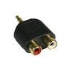 Adapter 2xRCA Fe > 1x3.5mm Ma