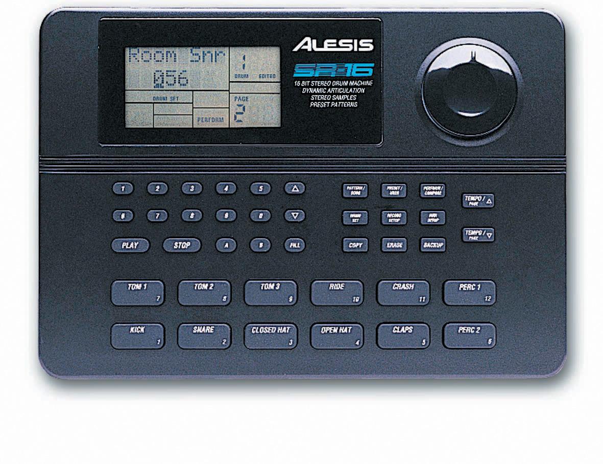 Alesis SR-16 Drummachine