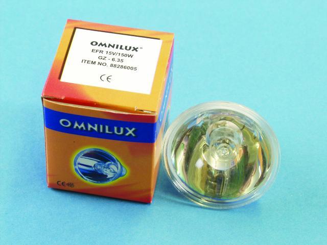 Omnilux 15V/150W EFR GZ-6.35 50h refl. [8 pcs left]