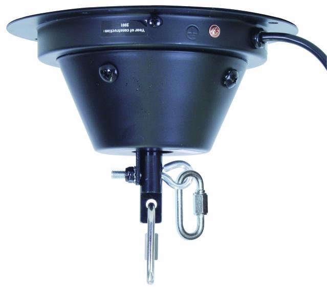 Eurolite MD-2010 Spegelbollsmotor
