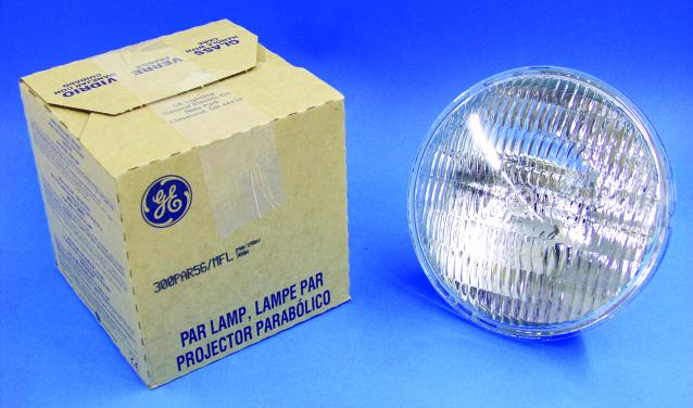 GE Par-56 Lamp 240V/300W MFL 2000h