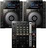 Pioneer DJ 2 x CDJ-900 Nexus + DJM-750