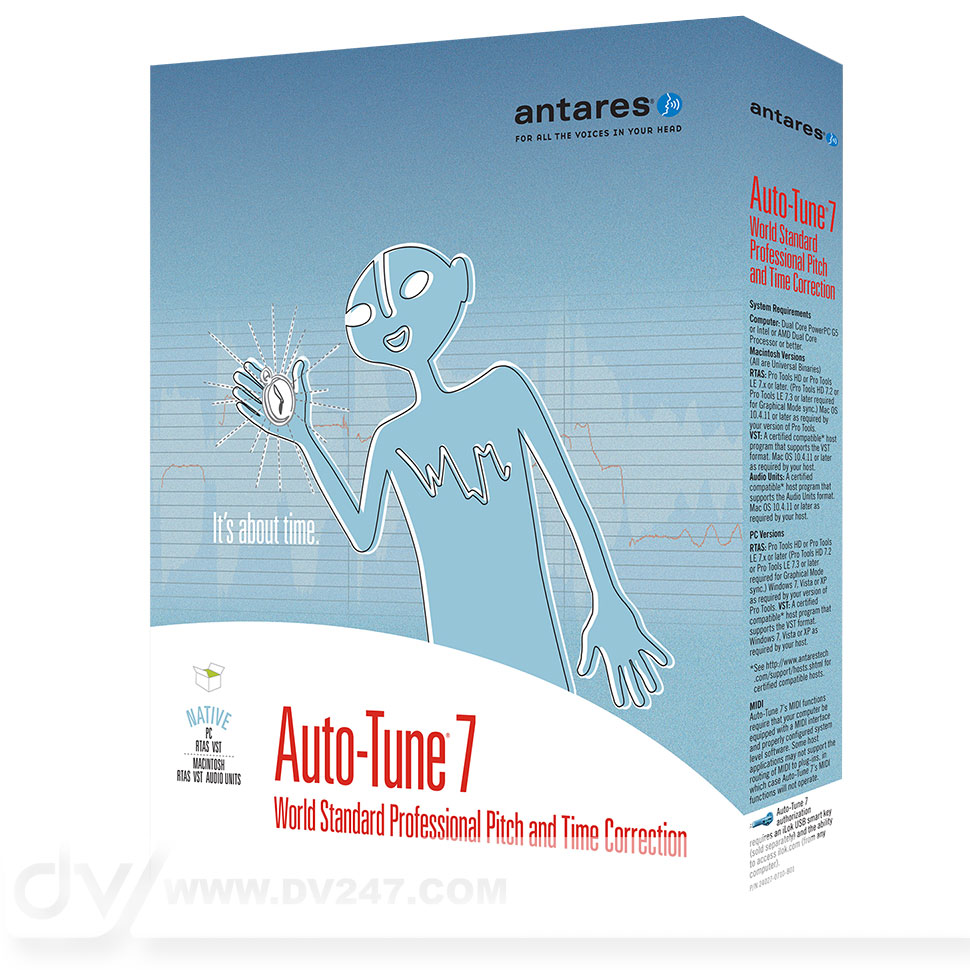Antares Auto-Tune 7 TDM [Download]