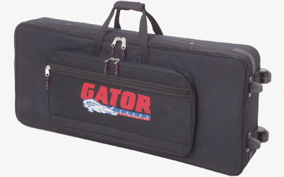 Gator GK-76 Lightweight Roller Keyboard Case