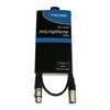 Accu-Cable 1xXLR Ma > 1xXLR Fe 1m