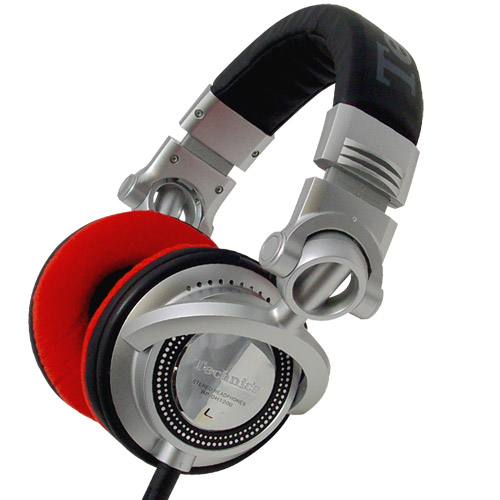 Zomo Earpads for RP-DH1200/HDJ-2000 Velour Red