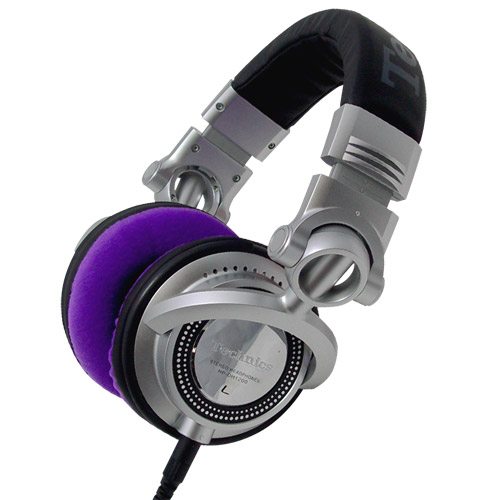 Zomo Earpads for RP-DH1200/HDJ-2000 Velour Violet
