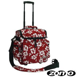 Zomo DJ-Trolley Flower Red