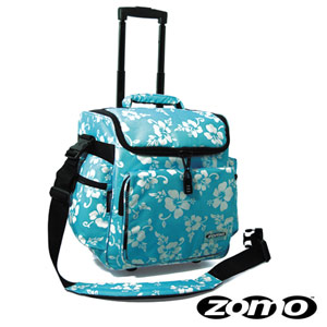 Zomo DJ-Trolley Flower Blue