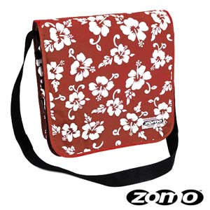 Zomo Recordbag Street-1 Flower Red