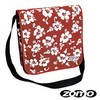 Zomo Recordbag Street-1 Flower Red