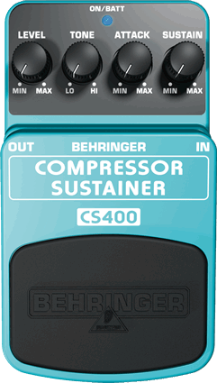 Behringer CS400 Compressor/Sustainer