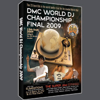 DMC World DJ Championship 2009 DVD [1 pcs left]