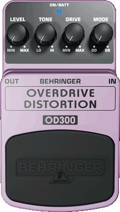 Behringer OD300 Overdrive/Distortion