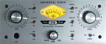 Universal Audio 710 Twin-Finity Mic Pre & D.I.