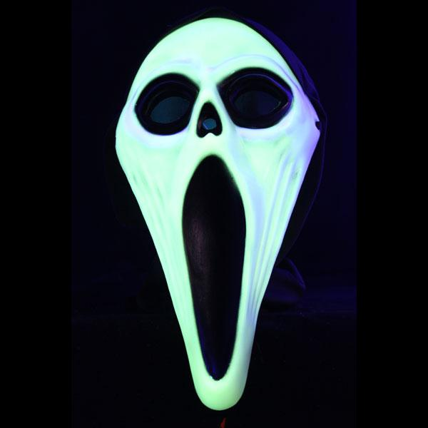 Noname Screamer Mask Glow In The Dark Plastic
