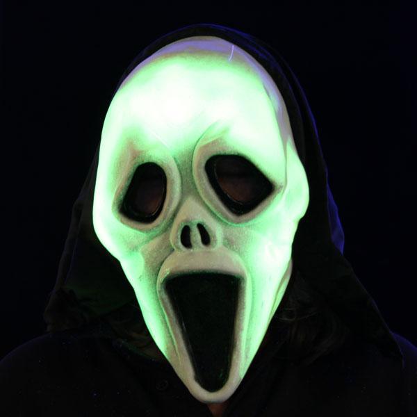Noname Screamer Mask Glow In The Dark Rubber