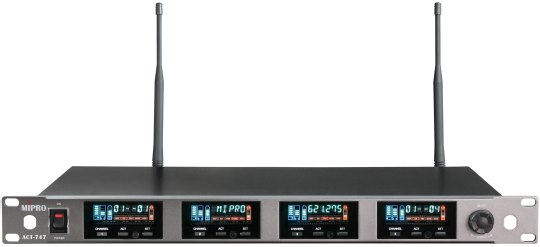Mipro ACT-747 7C Quad-Channel True Diversity Receiver
