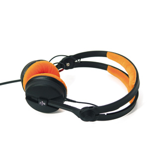 Zomo Replacement Earpads for HD25 Velour Tangerine