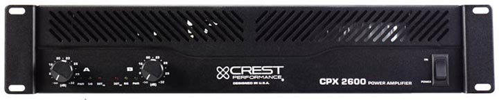 Crest CPX2600