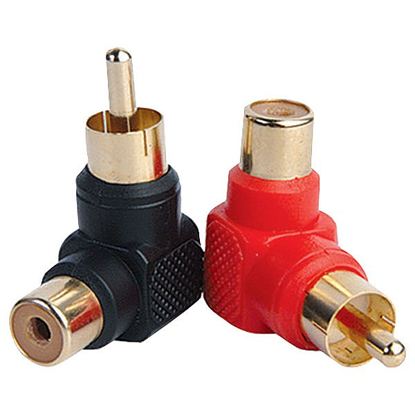 Accu-Cable RCA 90° Adapter Set