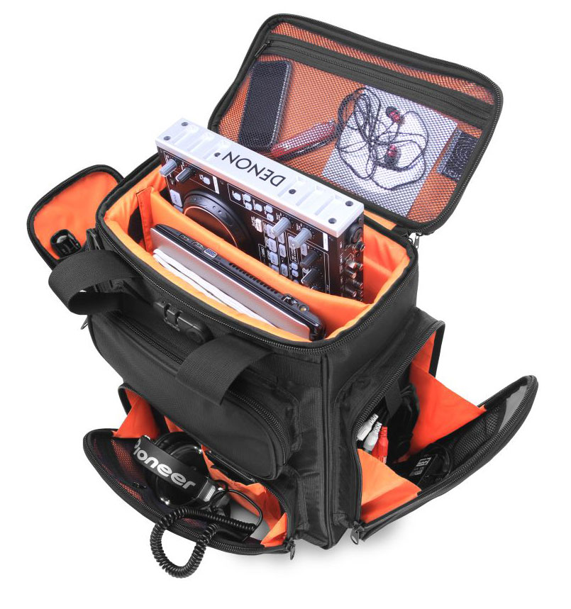 UDG Producer Bag Large Black/Orange Inside