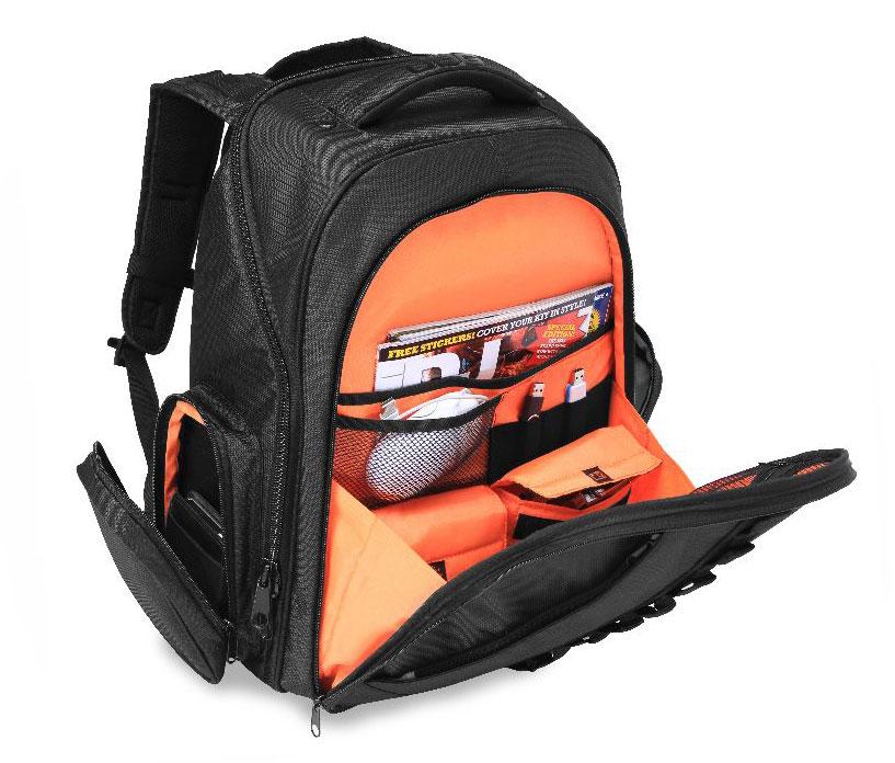 UDG Backpack Black/Orange Inside