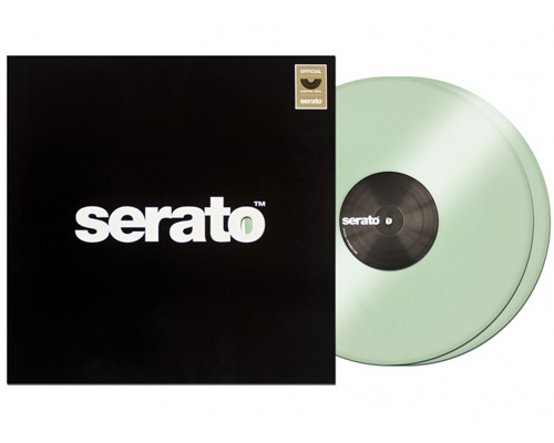 Serato Serato Control Vinyl - Glow In The Dark