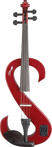 Stagg Electric Viola Metallic Red