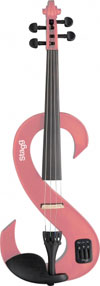 Stagg Electric Violin Pink