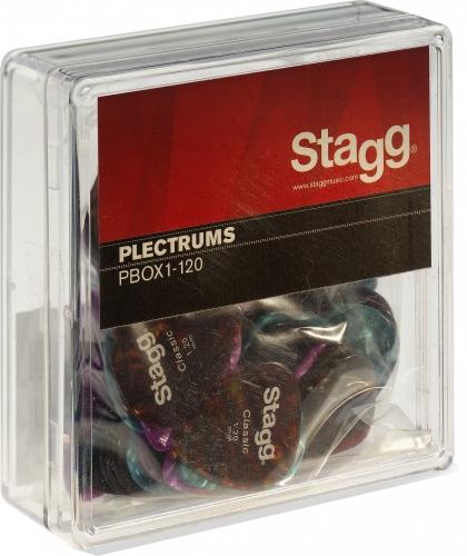 Stagg Box Of 100 x Picks 1.20mm