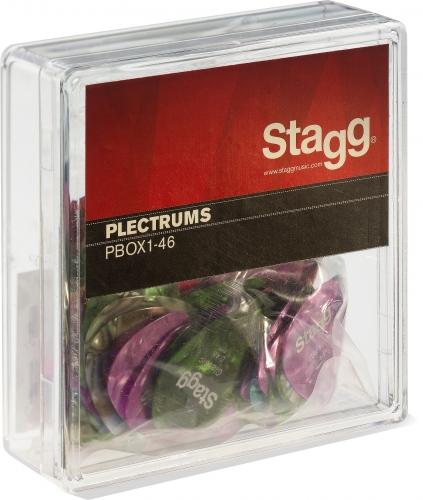 Stagg Box Of 100 x Picks 0.46mm