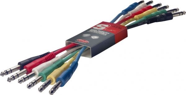 Stagg Patch Cable ST 6-pack 60cm