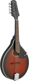 Stagg Mandolin-Spruce Top-Redburst