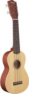 Soprano Ukulele-Sld Cedar-Maho