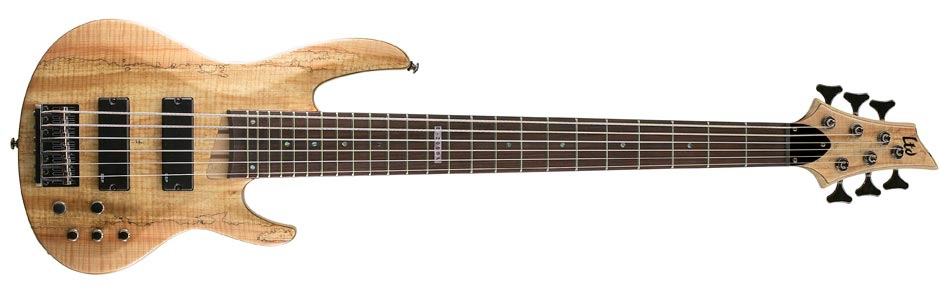 LTD B-206 SPALTED MAPLE NS
