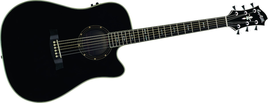 Hagström Sidre-CE-Black [1 pcs left]