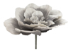 Giant Flower (EVA), artificial, stone grey, 80cm
