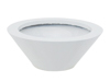 LEICHTSIN BOWL-15, shiny-white