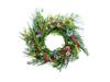 Wild Flower Wreath, artificial, 65cm